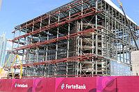 Комплекс зданий Forte Bank. Покраска металлоконструкций 25 000 м2, антикоррозийная защита 5000 м2, огнезащита 5000 м2.