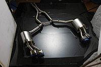 Титановый спортивный выхлоп на Mercedes-Benz W212