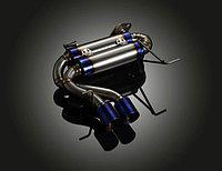 Титановый спортивный выхлоп на BMW E90, фото 1