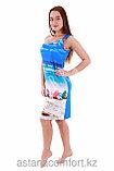 Летнее пляжное платье из вискозы Куба. , фото 3