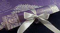 Приглашение в виде свитка на свадьбу, фото 1