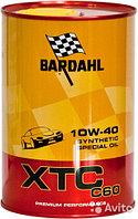 Моторное масло премиум-класса Bardahl XTC C60 10W40 (с заменой)