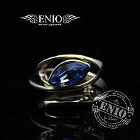 Женское Стальное кольцо с Фианитом
