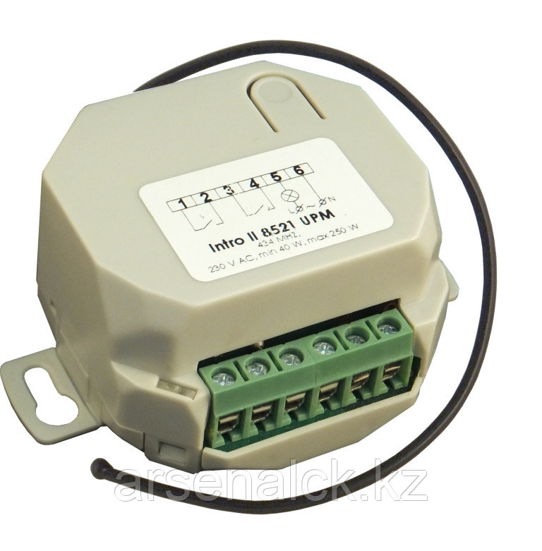 Диммер для ламп накаливания, галогенных ламп Intro II 8521 UPM