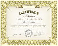 Сертификаты, фото 1