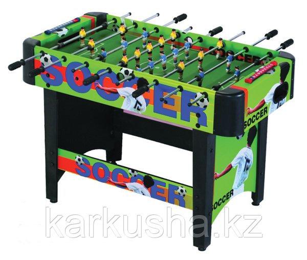 Настольный футбол (кикер) «Ajax» (120x61x81см, зеленый)