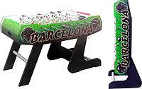Настольный футбол (кикер) «Barcelona» (138x72x86, цветной) складной)