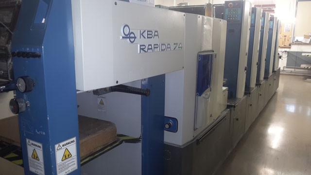 KBA Rapida 74-5 б/у 2003г - 5-ти красочное печатное оборудование