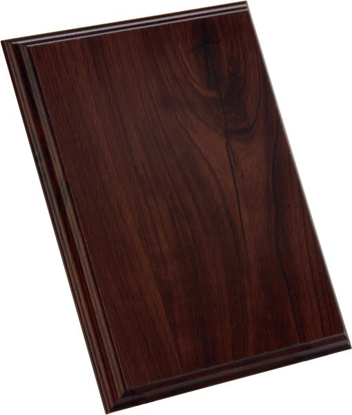 Деревянная основа для плакеток - А5 (орех)