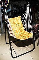 Качели садовые, одноместные (подвесной стул), оранжевый