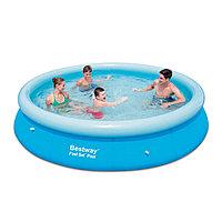 Надувной бассейн, BESTWAY, 57273 (57032), 366х76 см, 3638 литров, Винил, Голубой, Цветная коробка