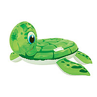 Игрушка для плавания, BESTWAY, 41041, Черепаха, 140х140, Винил, Зелёный, Цветная коробка
