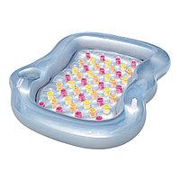 Матрас для плавания, BESTWAY, 43045, 216x178 см, Винил, Бело-Серый, Цветная коробка