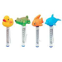 Термометр для бассейна, BESTWAY, 58110, Пластик, Сине-Белый, Цветная коробка