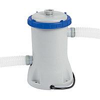 Фильтрующий насос для бассейна, BESTWAY, 58148, 2.006 литров/час, 1100-14300 литров, Серо-Синий, Цветная коробка