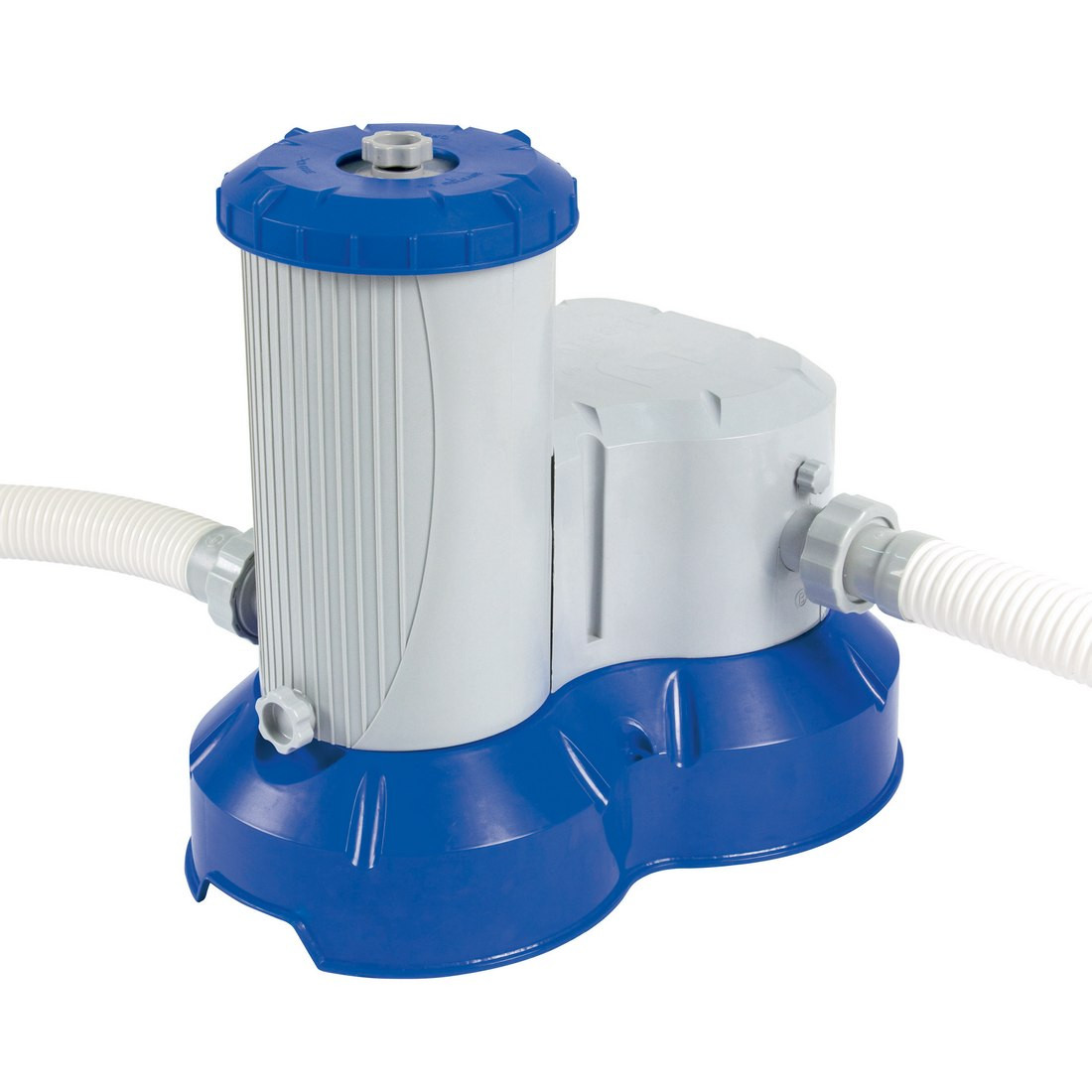 Фильтрующий насос, BESTWAY, 58221, 9.463 литров/час, Переходники 32 мм, Пластик, Серо-синий, Цветная коробка