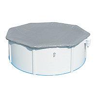 Тент для бассейна, BESTWAY, 58292, 366х122 см, Полиэтилен, Шнуры для крепления, Серый, Цветная коробка