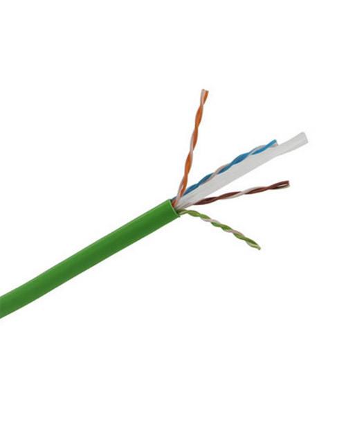 3М DE010024334 Кабель витая пара кат. 6, неэкранированный, U/UTP, 4 пары, PVC (305 м), зеленый