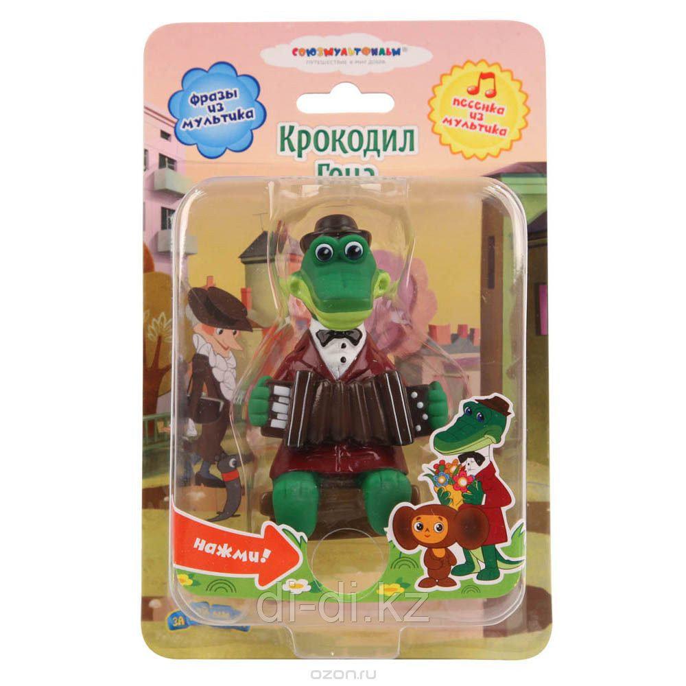 Пластизоль  Крокодил Гена,со звуком,ТМ СОЮЗМУЛЬТФИЛЬМ