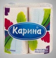 Бумажные полотенца «Перья» 22
