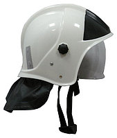 Шлем пожарного ШПМ, белый