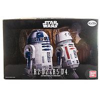 SW Сборная модель R2-D2 и R5-D4 1/12