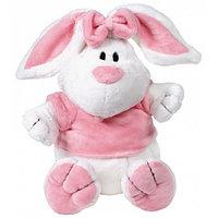 Кролик белый сидячий, 23 см, фото 1