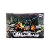 Игрушка игровой набор динозавров (5 дино + дерево) в ассортименте