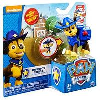 Игрушка Paw Patrol фигурка спасателя с рюкзаком-трансформером