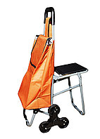 Cумка-тележка на колесах, со стулом