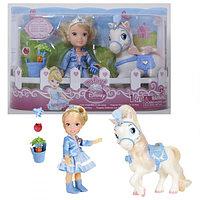 Кукла Принцессы Дисней Малышка с конем 15 см.