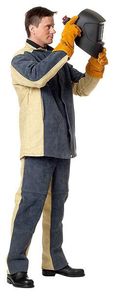 Костюм сварщика комбинированный со спилком - фото 2
