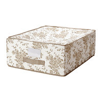 Коробка для хранения ГАРНИТУР бежевый ИКЕА, IKEA , фото 1
