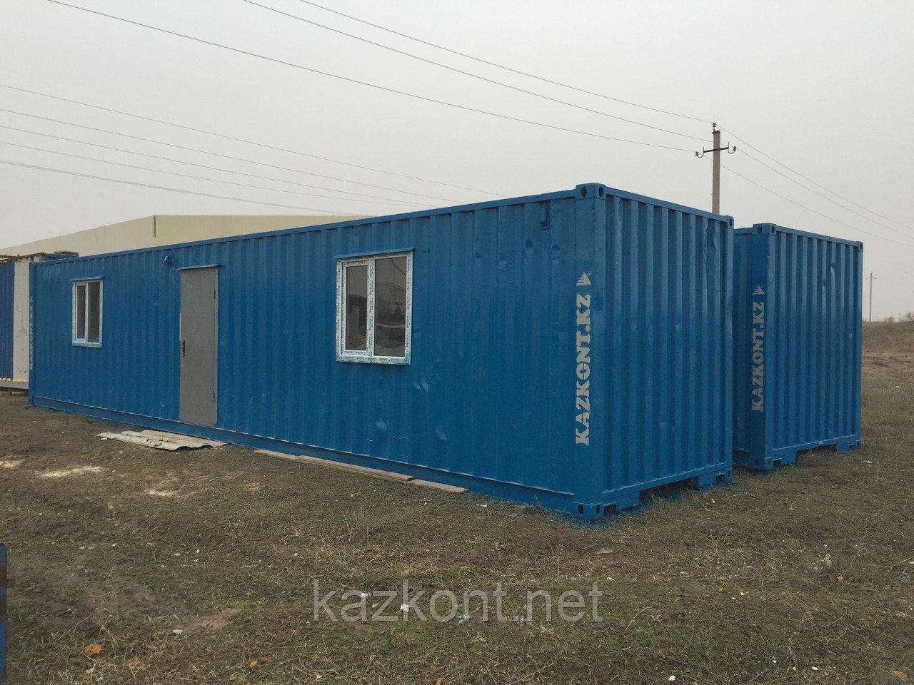 Дом из контейнеров Алматы!