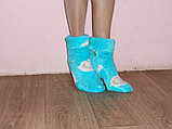 Домашние сапожки - носочки из вельсофта., фото 2