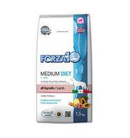 Сухой корм для собак средних пород Forza10 Medium Diet Agnello (ягненок)