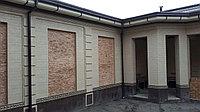 Фасад дома (Жидкий травертин) в Шымкенте