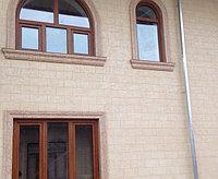 Фасадная штукатурка - жидкий травертин в Алматы