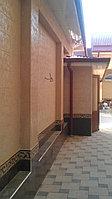 Фасадная штукатурка - жидкий травертин в Таразе