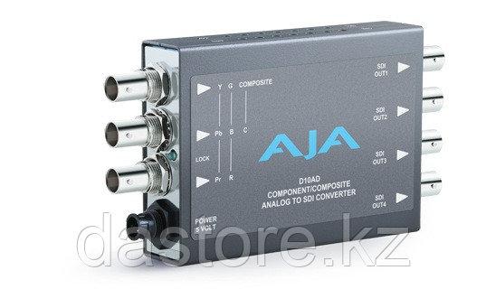 AJA D10AD конвертер аналог-SDI, фото 2