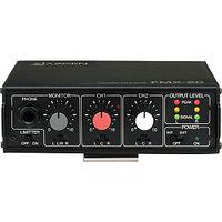Azden FMX-20 Портативный 2-х канальный аудио микшер, фото 1