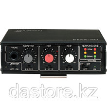 Azden FMX-20 Портативный 2-х канальный аудио микшер