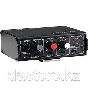 Azden FMX-20 Портативный 2-х канальный аудио микшер, фото 2