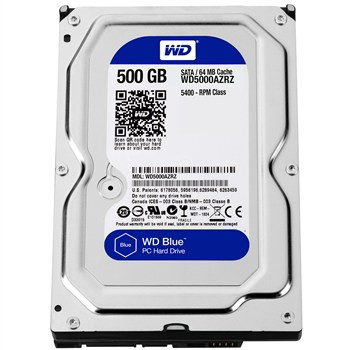 Western Digital WD5000AZRZ Жесткий диск HDD 500Gb