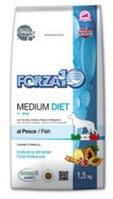 Сухой корм для собак средних пород Forza10 Medium Diet Pesce (рыба)