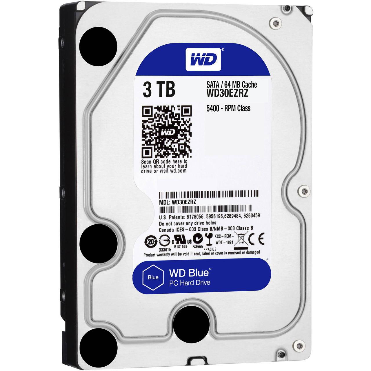 Western Digital WD30EZRZ Жесткий диск HDD 3Tb