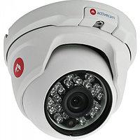 Компактная вандалозащищенная 4Mp IP-камера с ИК-подсветкой. Матрица 1/3'' CMOS, чувствительность: 0.005 Лк (F1
