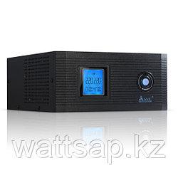 Инвертор, SVC, DI-800-F-LCD (640W), Вход 12В и/или 220В, Выход 220В (Чистая синусоида на выходе), Диапазон работы AVR: 145-270В, USB-порт, Функция