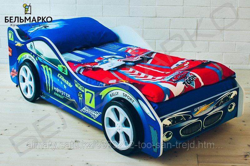 Детская кровать-машина «Молния»