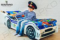 Детская кровать-машина «Полиция», фото 3